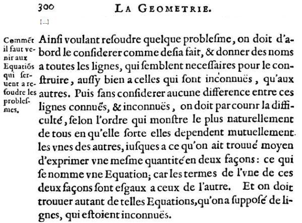 La Géométrie- Fin page 300