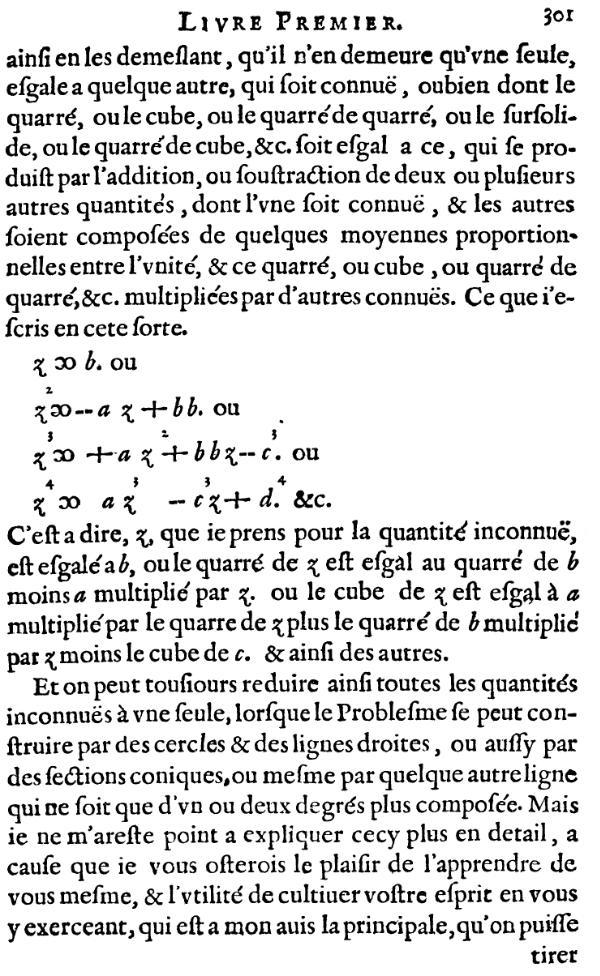 La Géométrie- Page 301