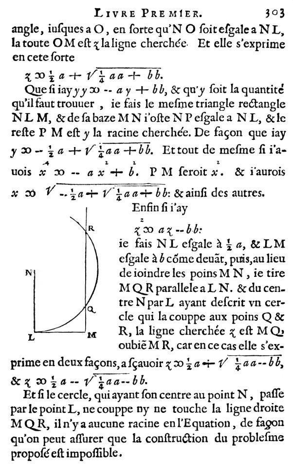 La Géométrie- Page 303