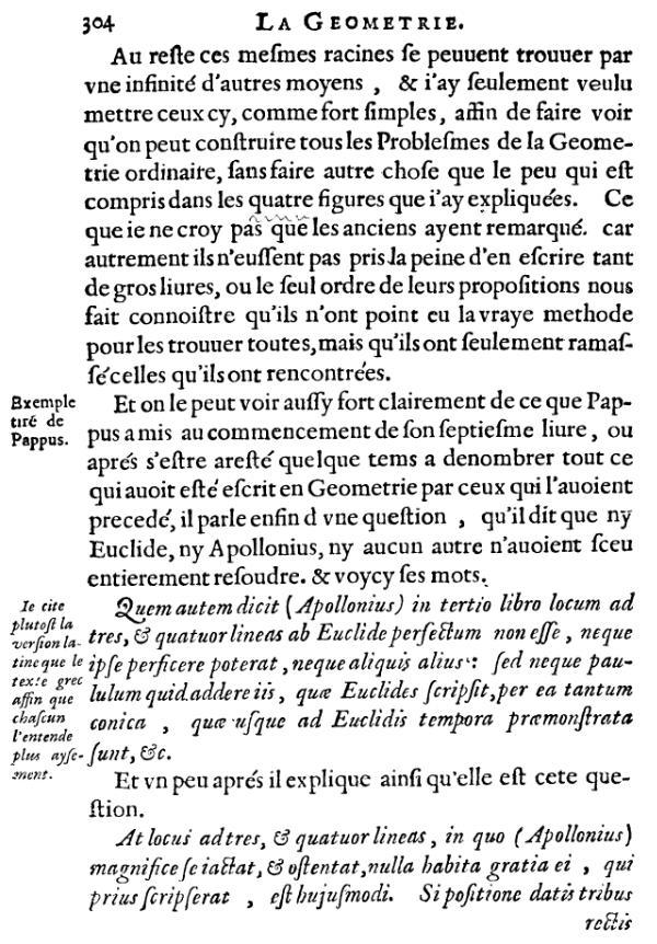 La Géométrie - Page 304