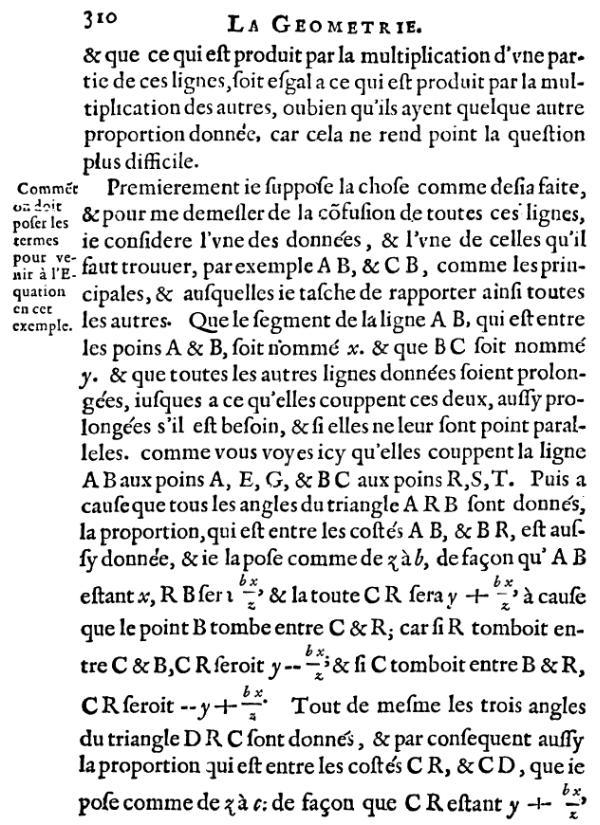 La Géométrie - Page 310