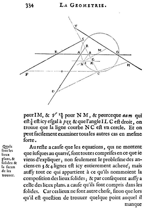 La Géométrie - Bas page 334