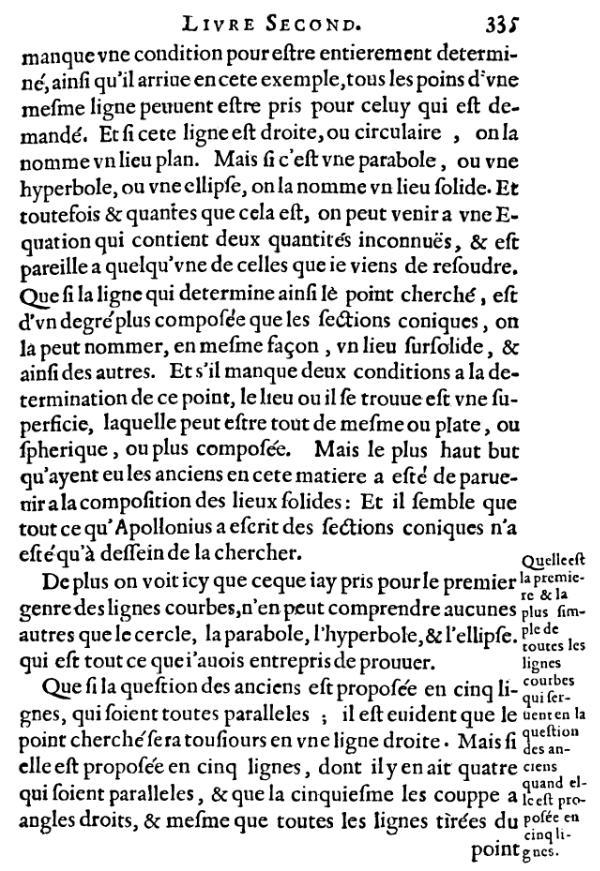 La Géométrie - Haut pge 335