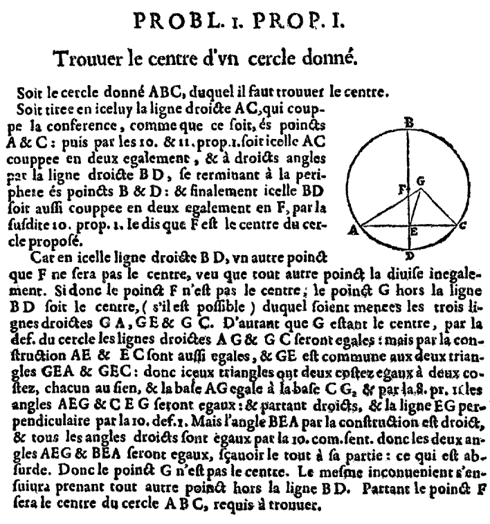 Elements d'Euclide page 111 - bnf Gallica