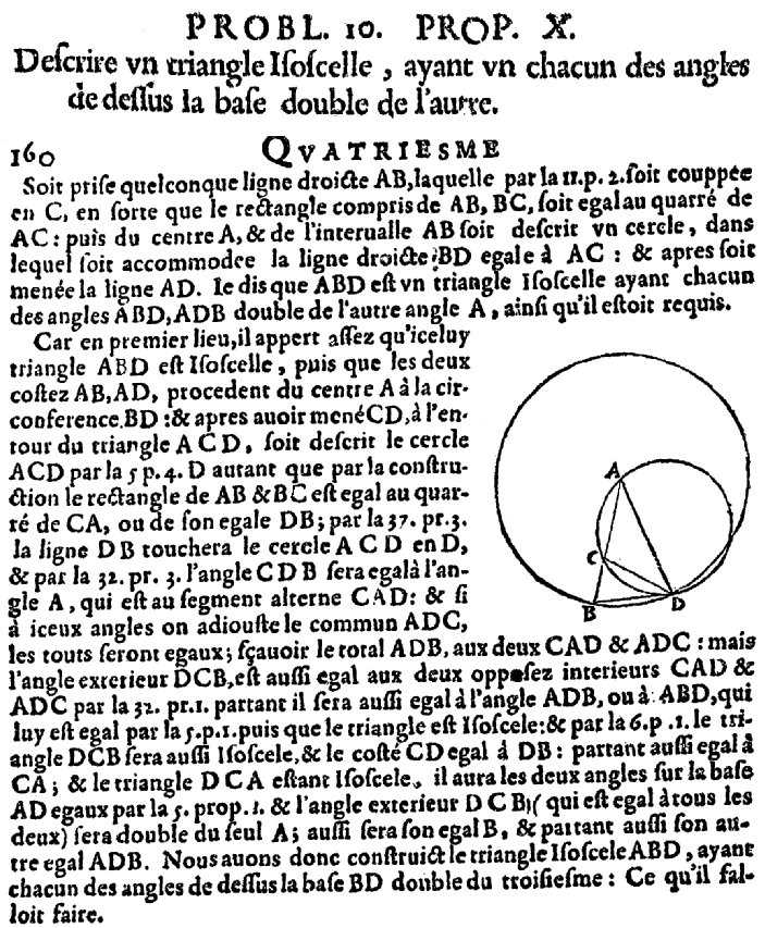 Elements d'Euclide page 160 - bnf Gallica