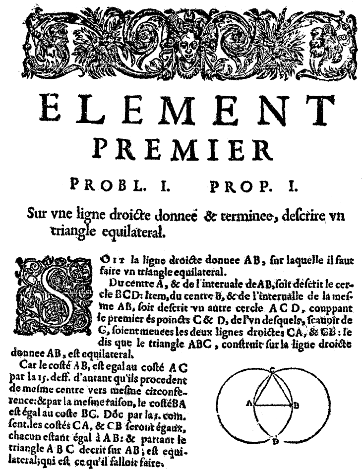 Elements d'Euclide page 23 - bnf Gallica
