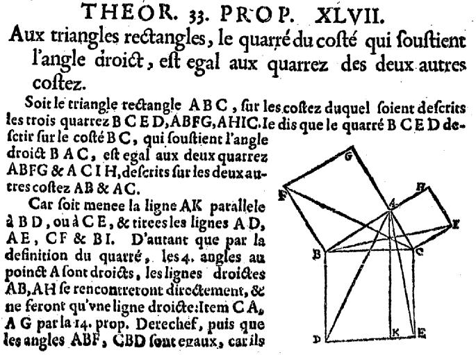 expose sur pythagore