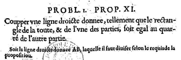 Elements d'Euclide bas de la page 97 - bnf Gallica