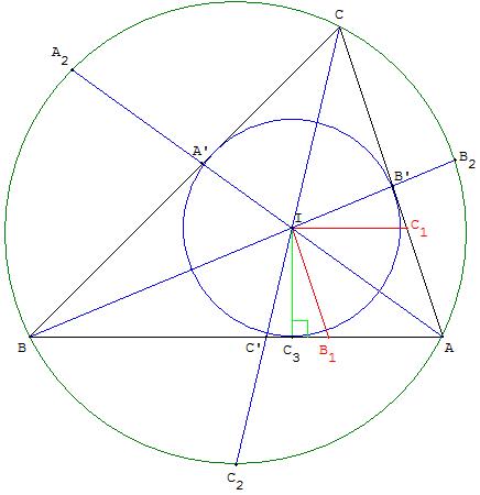 G om trie du triangle droites remarquables - Comment construire un trapeze ...