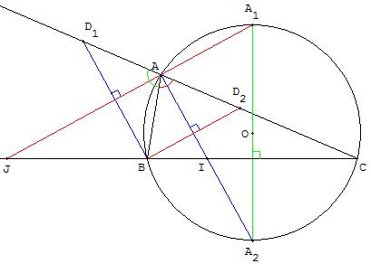 comment retrouver le centre d un cercle 5eme