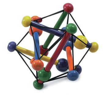 polyèdre de l'espace - Skwish de Manhattan toy