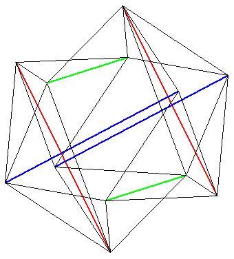 polyèdre de l'espace - Skwish avec Geospace - copyright Patrice Debart 2007